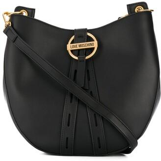 Love Moschino Hobo buckle shoulder bag