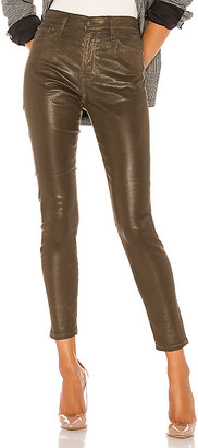 AG Adriano Goldschmied Farrah Skinny Ankle Leatherette.