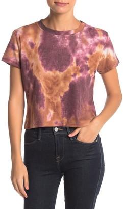 Cotton Emporium Tie Dye Crew Neck Short Sleeve T-Shirt
