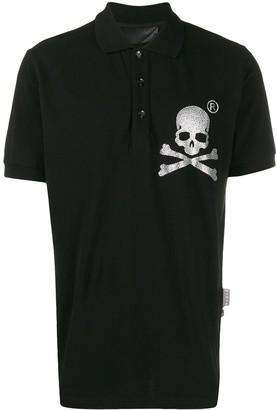 Philipp Plein Skull polo shirt