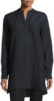 Joseph Dara Long-Sleeve Linen Tunic