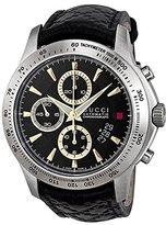 Gucci Men's G-Timeless YA126237 Leather Swiss Quartz Watch
