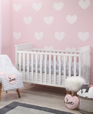 NoJo Little Love by Hugs & Kisses 5-Pc. Crib Bedding Set Bedding