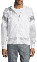 Moncler Nylon Zip Front Jacket