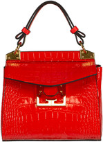 Givenchy Red Croco Mini Mystic Bag