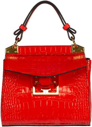 Givenchy Red Croco Mini Mystic Bag