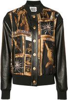 Fausto Puglisi art print bomber jacket
