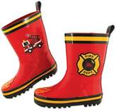 Stephen Joseph Fire Truck Rain Boot in Red