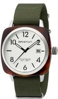 Briston 16240.SA.T.2.NGA Clubmaster HMS acetate watch