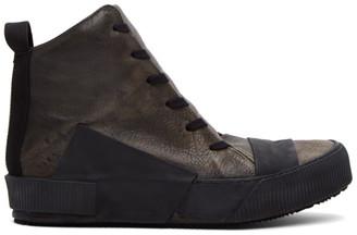 Boris Bidjan Saberi Taupe Bamba 1 Sneakers