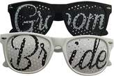 Unik Occasions Bride and Groom Wedding Party Sunglasses