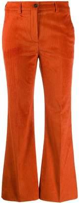 Incotex low-waist corduroy trousers