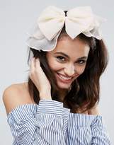 Asos Oversize Soft Bow Headband