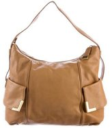 Michael Kors Textured Leather Hobo