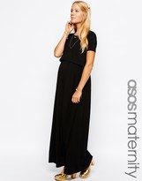 ASOS Maternity - Nursing ASOS Maternity NURSING Maxi Dress With Double Layer