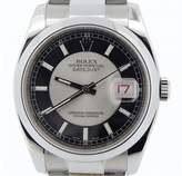 Rolex 116200 Stainless Steel Datejust Tuxedo w/Oyster Band New Style Watch