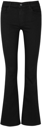 J Brand Sallie Photo Ready Black Bootcut Jeans