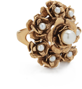 Marc Jacobs Large Flower Cocktail Ring
