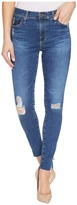 AG Adriano Goldschmied Farrah Ankle Skinny in Interim Destroyed Women's Jeans