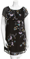 Rebecca Minkoff Off-The-Shoulder Floral Tunic w/ Tags