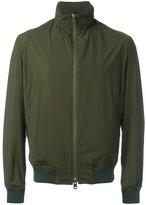 Kiton zip up raincoat - men - Elastodiene/Polyimide - 52