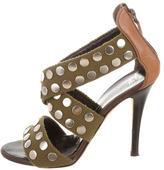 Giuseppe Zanotti Canvas Multistrap Sandals