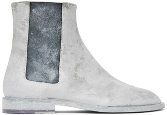 Maison Margiela White Advocate Tabi Boots