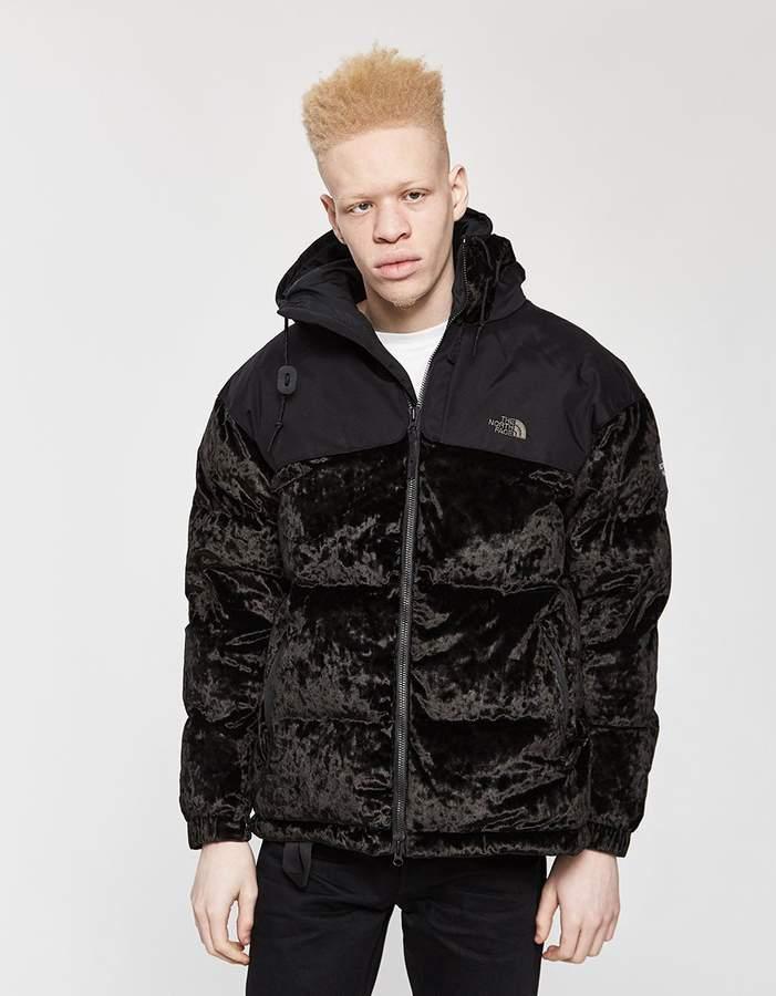 The North Face Black Series Urban Velvet Nuptse Jacket in TNF Black
