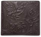Pretty Green Paisley Embossed Bi-Fold Wallet