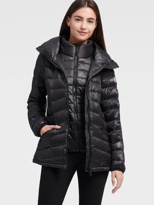 DKNY Packable Puffer Jacket