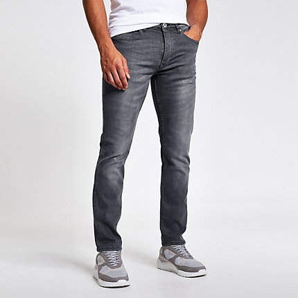 online store 073e1 7c41e Mens Faded Washed Jeans - ShopStyle