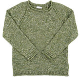 Il Gufo Mélange Sweater-GREEN