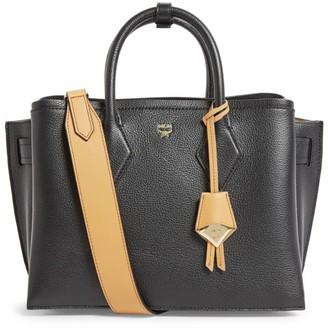 MCM Medium Leather Neo Milla Tote Bag