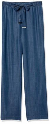 Calvin Klein Women's Misses Wide Leg Full Length Pant