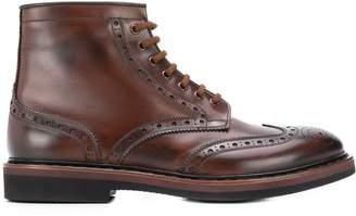 Premiata brogue-detail boots