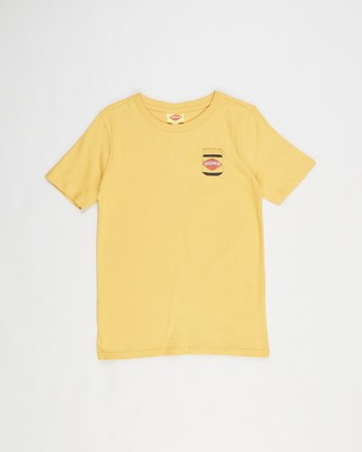 Cotton On Boy's Yellow Printed T-Shirts - Co-Lab Short Sleeve Tee - Kids-Teens - Size 4 YRS at The Iconic