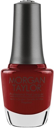 Morgan & Taylor Ruby Two-Shoes Nail Lacquer