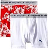 Tommy Bahama Men's 2 Pack Stretch Cotton Comfort Oahu Floral Boxer Brief