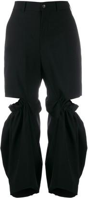 Junya Watanabe deconstructed trousers
