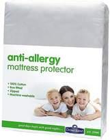 Downland Anti-Allergy Deep Zipped Mattress Protector - 30cm Depth