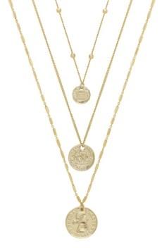Ettika Lucky Coin Necklace Set