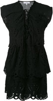 IRO tie-up lace dress - women - Cotton - 34