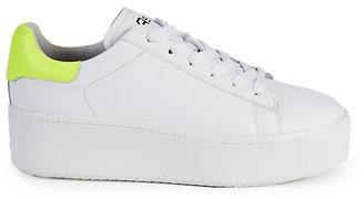 Ash Cult Leather Platform Sneakers