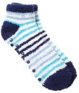 Penningtons Striped Anklet Grip Socks