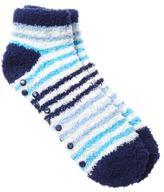 Penningtons Striped Anklet Grip Socks