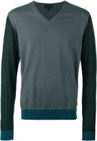 Lanvin V-neck pullover - men - Cotton/Wool - M