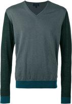 Lanvin V-neck pullover - men - Cotton/Wool - S