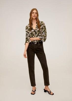 MANGO Print blouse