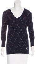Burberry Argyle Merino Wool Sweater