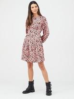 Very Printed Skater Dress
